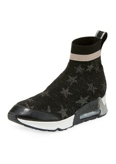 Ash Lulla Star-Sock Slide Sneakers