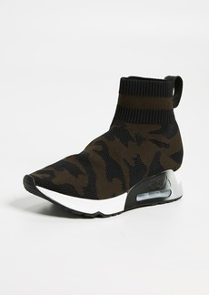 Ash Lulu Camo Knit Runner Sneakers