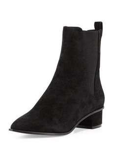 Ash Mira Suede Pointed-Toe Bootie