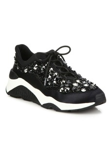 Ash Muse Beaded Chunky Sneakers