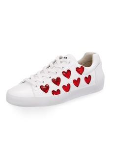 Ash Nikita Sequin Heart Sneakers