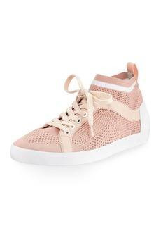 Ash Nolita Knit Mesh Lace-Up Sneakers
