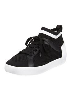 Ash Nolita Knit Mesh Lace-Up Sneakers