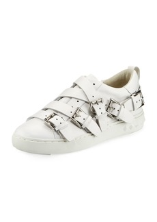 Ash Premium Multi-Strap Leather Sneakers