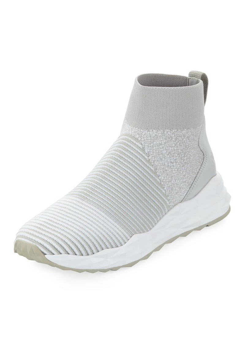 Ash Spot Stretch-Sock High-Top Sneakers