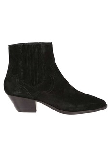 Ash Stitched Ankle Boots