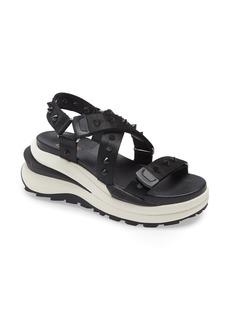 Ash Sunny Studded Wedge Sandal (Women)