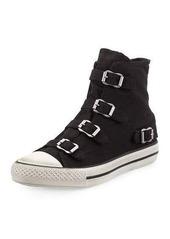 Ash Virgin Buckled Canvas Sneaker