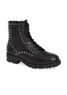 Ash Wolf Studded Combat Boot (Women)