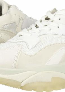 ASH Women's AS-Addict BIS Sneaker White/GRIGRO 40 M EU ( US)