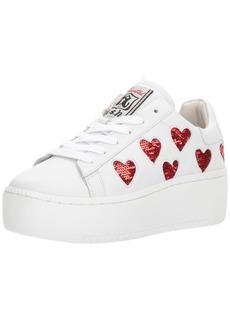 ASH Women's AS- AS-Cute Sneaker White/red 40 M EU ( US)