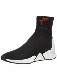 Ash Women's AS-THONDER Sneaker Black Start/red 3 M EU ( US)