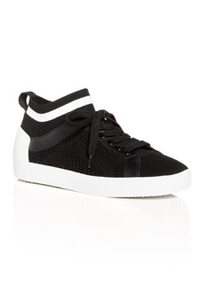 Ash Women's Nolita Knit Mid Top Sneakers