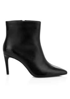 Ash Bianca Leather Ankle Boots