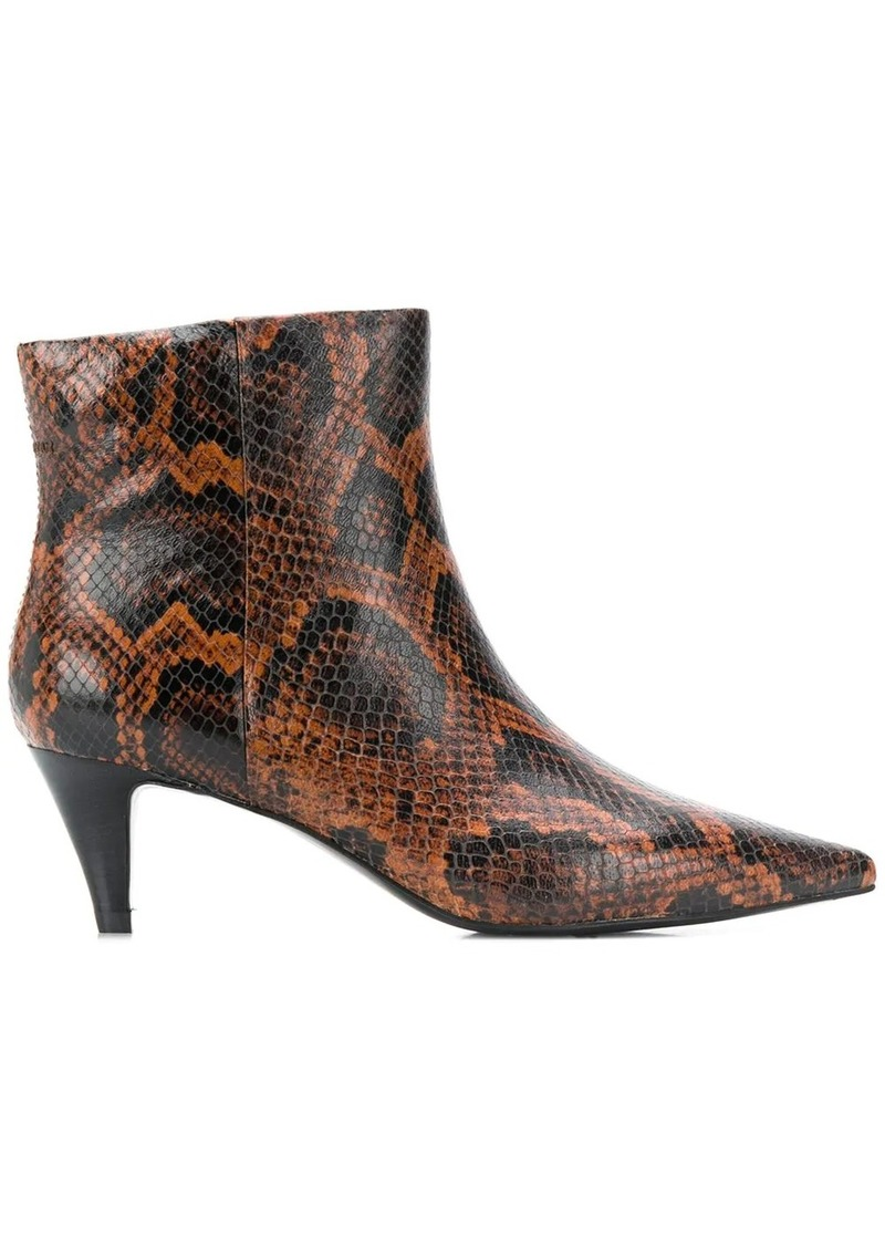 Ash Cameron pointed ankle boots