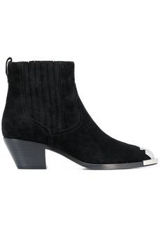 Ash cowboy style ankle boots