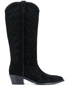 Ash Delirium suede knee-high boots