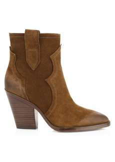 Ash Esquire Suede Ankle Boots