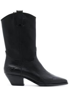 Ash Fire cowboy boots