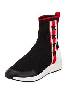 Ash Jango Knit High-Top Sock Sneaker