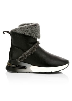 Ash Klima Leather & Shearling Boots