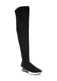 Ash Lola Thigh-High Sock Sneakers