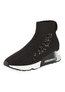 Ash Lotus Beads Sock Sneakers