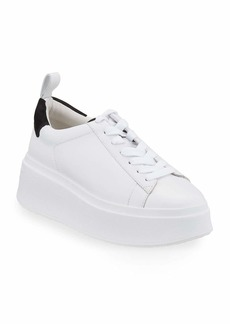 Ash Moon Platform Chunky Sneakers  White/Black