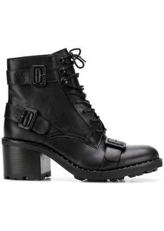 Ash multiple buckle straps boots