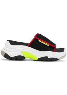 Ash platform slide sandals