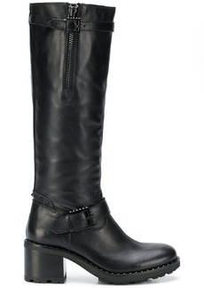 Ash knee-length boots