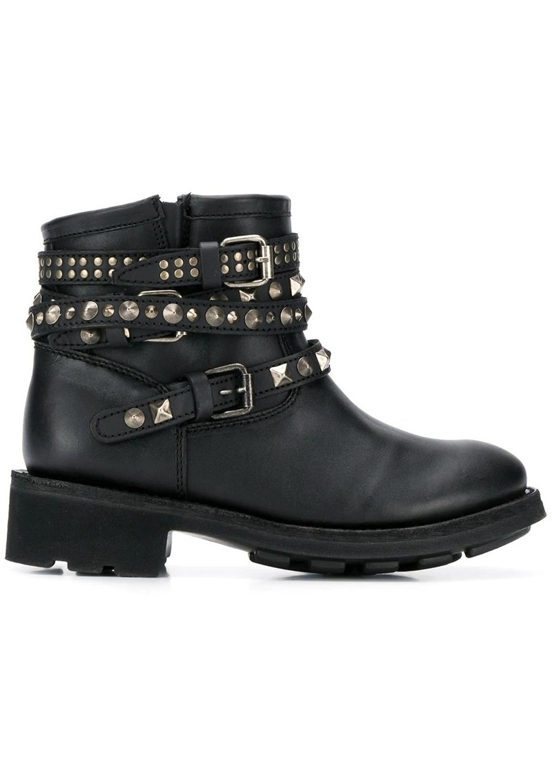 Ash studded ankle boots