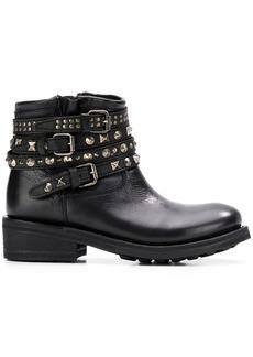 Ash Tatum biker boots