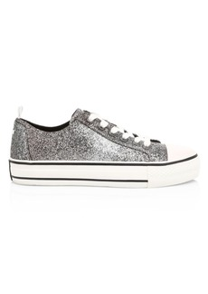 Ash Vanda Glitter Canvas Sneakers