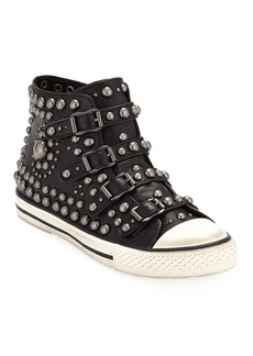 Ash Vito Studded High-Top Sneakers