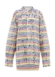 Ashish Mirror-applique oversized shirtdress