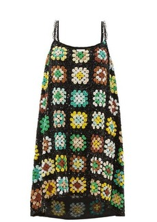 Ashish Relaxed sequinned slip dress