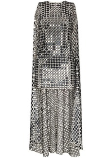 Ashish cape sequin mini dress