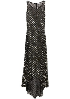 Ashish embellished sheer maxi dress