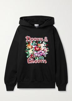 Ashish Sequin-embellished Cotton-blend Jersey Hoodie