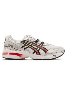 Asics GEL-1090 mesh and leather trainers