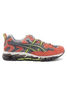 Asics Gel-Nandi 360 suede and mesh trainers