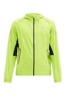Asics Lite Show hooded shell jacket