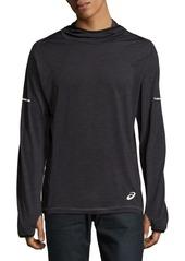 Asics Long-Sleeve Hooded Pullover