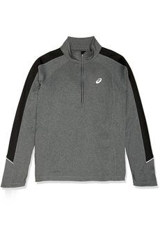 ASICS Men's Brush Stretch Jersey 1/4 Zip Top