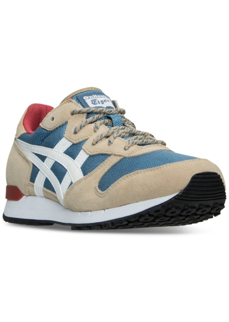 58f91a3c2a90 SALE! Asics Asics Onitsuka Tiger Men s Alvarado Casual Sneakers from ...