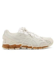 Asics X GMBH Gel-Quantum 360 6 faux-leather and mesh trainers