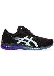 Asics black Quantum mesh low top sneakers