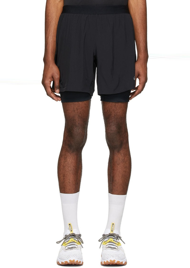 Asics Black Road 2-In-1 Shorts