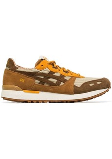 Asics brown LYTE YMC suede sneakers